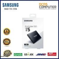 Samsung T5 Portable SSD - 1TB : USB 3.1 External SSD (MU-PA1T0B)