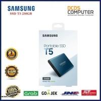 Samsung T5 Portable SSD - 250GB : USB 3.1 External SSD (MU-PA250B)