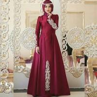 Maxi Dress Aina Maroon