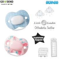Tommee Tippee Little London Ortho Soother Empeng Silicone Pacifier