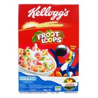 KELLOGGS FROOT LOOPS 300GR - FRUIT RING CEREAL - FRUIT LOOPS CEREAL