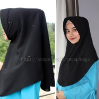 Hijab/jilbab simple pet swarovski