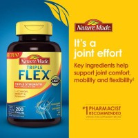 Nature Made TripleFlex Triple Strength 200 Tablets.