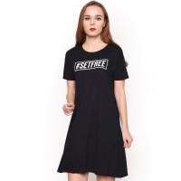 LEMONE T-shirt Dress Cewe Spandek Premium Baju Wanita 710SS108064