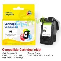Cartridge Tinta Recycle Canon PG88 PG-88 Refill Printer E500 E510 E600 - Colour