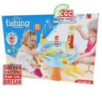 Mainan Fishing Table Water Paradise Meja Pancing Ikan Air No. 889-68