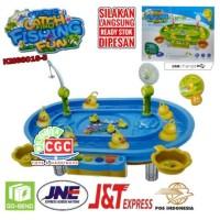 Mainan Electric Catch And Fishing Fun KM68016-5 Musik Pancing Ikan
