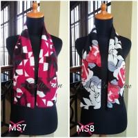 syal motif / scarf mini / shawl wolfis