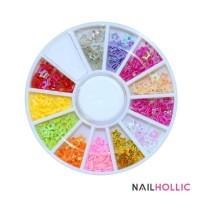 colorful hollow star nail wheel / nail decoration / nail art kuku