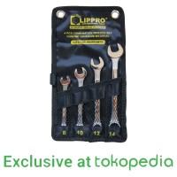 [FS] LIPPRO KUNCI RING PAS SET 4 PCS 8-14 MM COMBINATION WRENCH SET