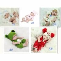 Harga boneka bayi baru lahir laki laki perempuan handmade bahan silikon | Pembandingharga.com