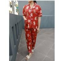 Baju Setelan Pajamas Piyama High Quality Lucu Karakter Termurah