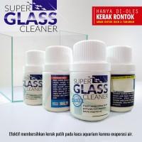 Pembersih kerak kaca aquarium SUPER GLASS CLEANER 50ml