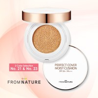 Fromnature Perfect Cover Moisture Cushion SPF 50+ PA+++ 15 gram - No 21 thumbnail