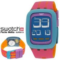 Jam Tangan Swatch SURS103 Pechemelba Original Swatch Touchscreen