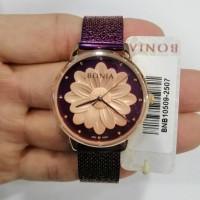 JAM TANGAN WANITA BONIA BNB10509-2507 UNGU ROSE GOLD ORIGINAL