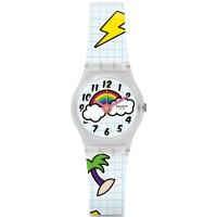 Jam Tangan wanita Swatch LW160 SCHOOL BREAK Original garansi Resmi 2th