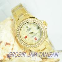 on sale Jam tangan wanita / cewek Rolex Lady gaga Super Premium Elegan