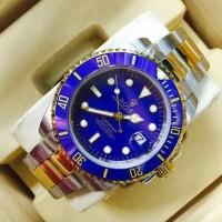 Jam Tangan Rolex Submariner Gold Blue Super Premium