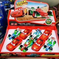 DIECAST MINIATUR THE CARS MAQUEN ISI 8 JUAL PER BOX Murah