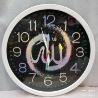 trendi Jam Dinding Kaligrafi Diameter 32 cm . Jam Dinding Minimalis . b13fa4d91f