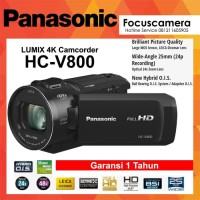 Panasonic Camcorder / Handycam HC-v800 Full HD - Garansi 1 Tahun
