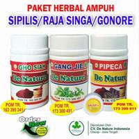 Obat Herbal De Nature| Obat Sipilis | Obat Gonore & Kencing Nanah
