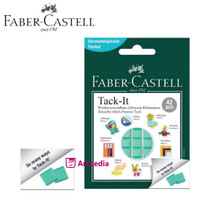 Faber Castell Tack It isi 42 Pcs / Adhesive Tack It 30gr Green