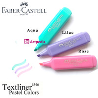 Faber Castell Textliner 1546 Pastel Colour Highlighter Stabilo Pastel