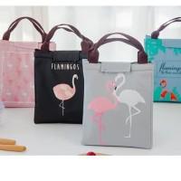 lunch bag tas bekal cooler bag, bonus 2 jelly ice cooler   E2K1