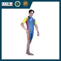 Baju Renang Pria Dewasa Apung SafeSwim Premium Grey For Man