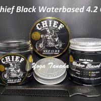 Jual Pomade Chief Black Solid / Hitam 4.2 oz (FREE SISIR SAKU) Murah