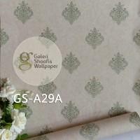 Harga walpaper dinding wallpaper stiker batik hijau kode | antitipu.com