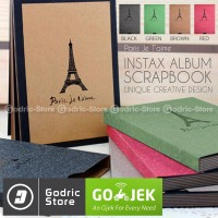 Album ScrapBook Paris Je T'aime 26 Lembar Fujifilm Instax Mini & Wide