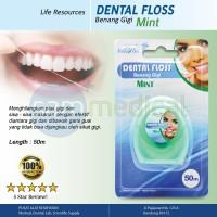 Liferesources Dental Floss Mint 50m