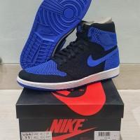 d06e5961e59f4 BNIB Nike Air Jordan Retro 1 Flyknit Royal Blue Sz US 11 EUR 45