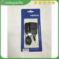OEM Charger Nokia N95 Lubang / Ujung Kecil - Hitam -H2566