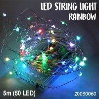 lampu led natal dekorasi /led twinkle light / led string Lightrainbow