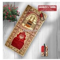 Sajadah Tas Mini Motif Zahra Merah 0852-2765-5050