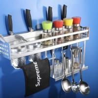 HB267N Rak dinding bumbu dapur / kitchen organizer / alat masak organi