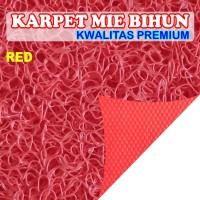Karpet Motor Mie Bihun Meteran Merah (Red)