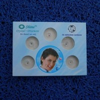 Diamond Teeth Shine Skyce Model Round Bulat Warna Mix Berlian Gigi