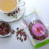 Harga lc368 teh 63 teh kuncup bunga mawar rose flower tea teh mawar | Pembandingharga.