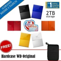 WD My Passport NEW 2TB - HD / HDD / Hardisk Eksternal / External 2.5""