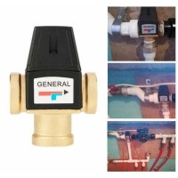 Harga general thermostatic mixing valve solar water heater 3 way rjm   Pembandingharga.com