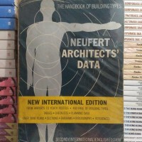 Buku Import The Handbook Of Building Types NEUFERT ARCHITECTS DATA