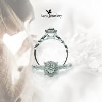 Cincin Berlian B01 - Ivana Jewellery
