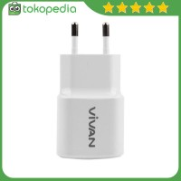 Vivan 2A Output Single USB Charger (Original) -H4079