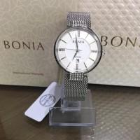 JAM TANGAN WANITA BONIA BNB10442-2312 SILVER ORIGINAL MURAH