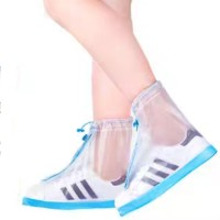 Jas Hujan Sepatu Sandal Anti Basah Retsleting Zipper